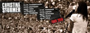 Christina Stürmer Tour 2016