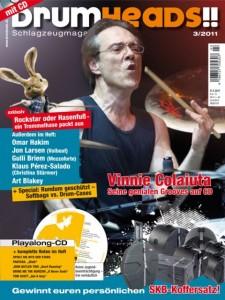DrumHeads!! (3/2011) - Interview & Schnappschuss