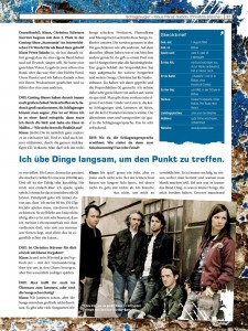 DrumHeads!! (3/2011) - Interview