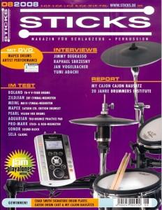 Sticks (8/2008) - Performance 2008 Mapex Artist DVD